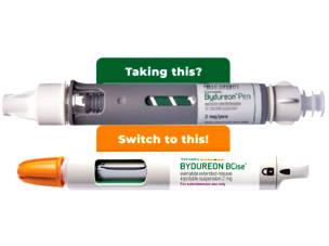 Free diabetes medication: Bydureon Bcise