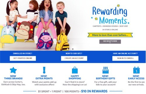 Carter's - Rewards Program