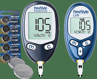 FreeStyle blood glucose meters - diabetic freebies