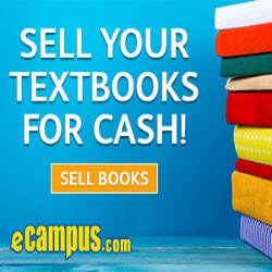 ecampus banner - Sell your textbooks for cash!