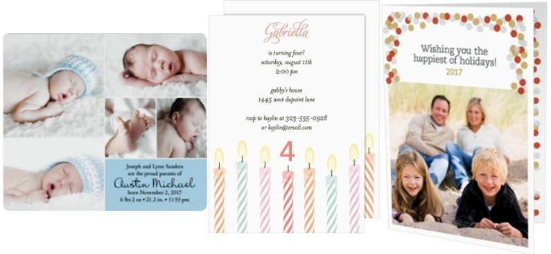 Birth announcements and invitations - free baby stuff for expecting moms