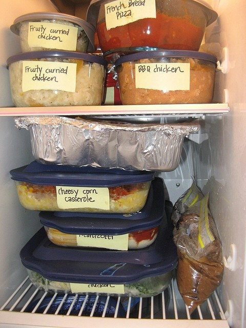 Freezer meals for frugal cooking tips.