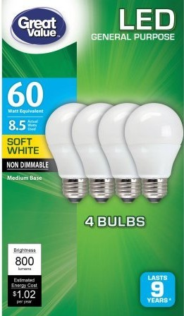 Money-Saving Products - LED Lightbulbs
