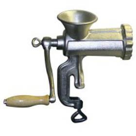 Meat grinder.