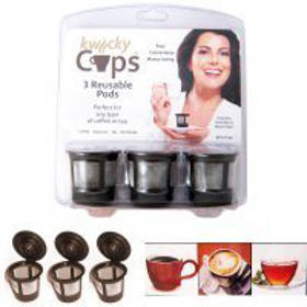 Reusable pods for your Keurig.